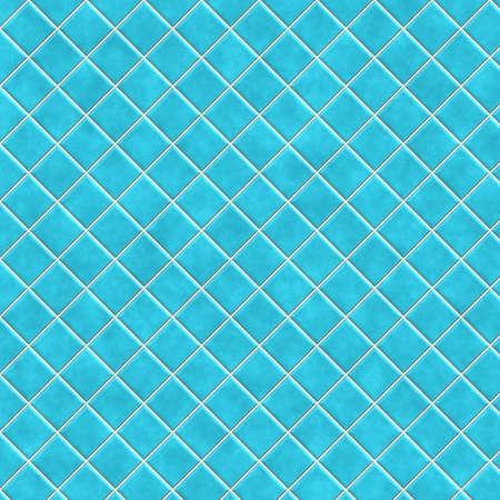 ceramics: de cer�mica azul Foto de archivo