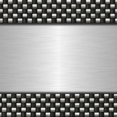 metal banner Stock Photo - 14737158