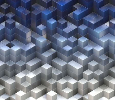 abstract cubes  photo
