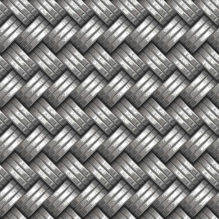 galvanized: metal patten Stock Photo