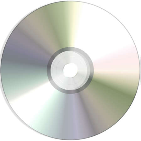 blank dvd Stock Photo