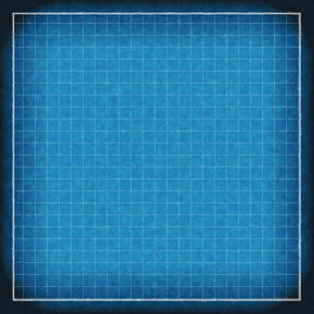 canvas print: blueprint background