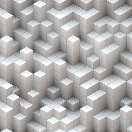 white cubes Stock Photo - 16977613