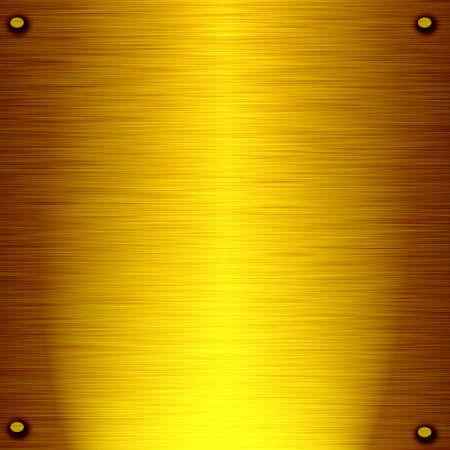 sandblasted: gold metal