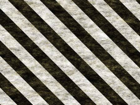 hazardous metals: warning stripes