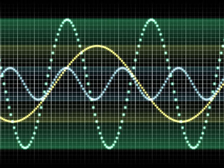 sound wave Stock Photo - 20137864