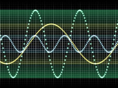 sound wave Stock Photo - 20137864