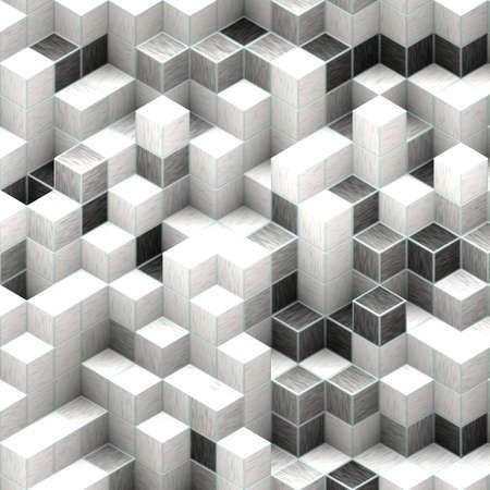 white cubes Stock Photo - 20682810