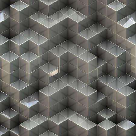 white cubes Stock Photo - 20682792