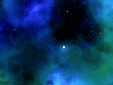 nebula sky Stock Photo - 20682494