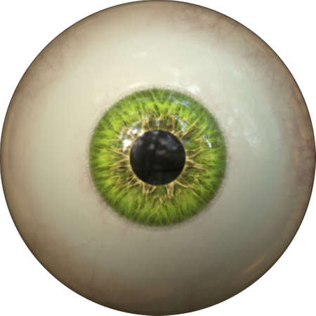 contact details: green eye