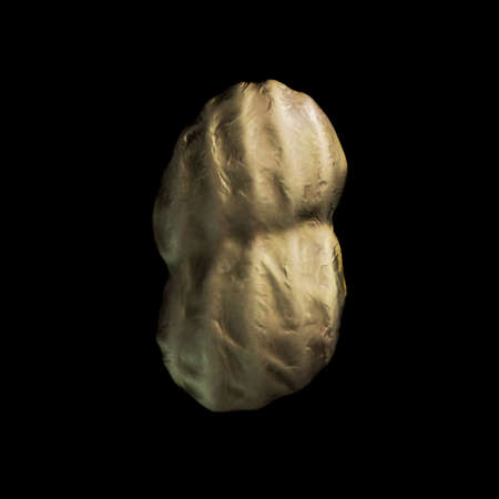 single peanut  Stock Photo - 21953791