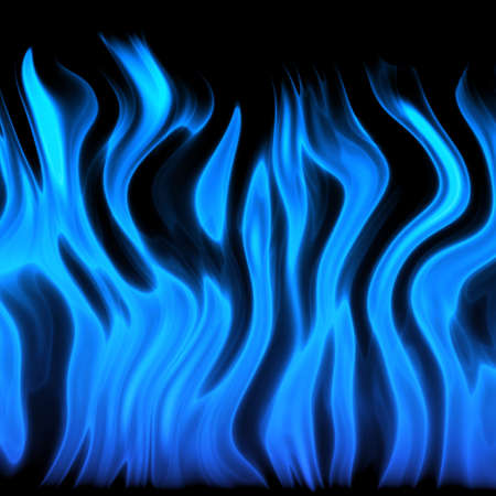 blue flame Stock Photo - 21953797