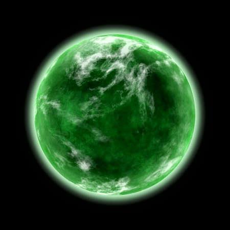 green planet Stock Photo - 22256960