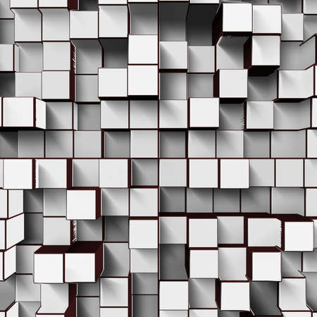 white cubes Stock Photo - 22256975