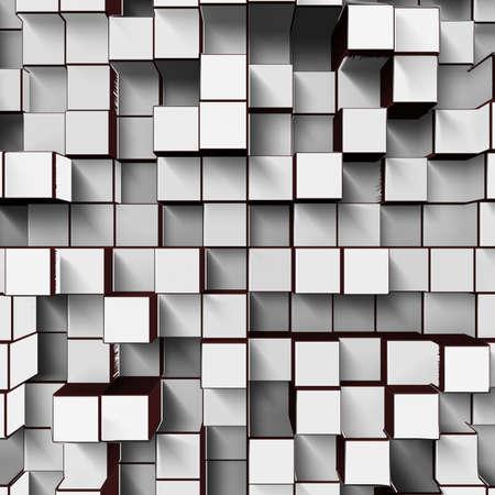 white cubes Stock Photo - 22256975