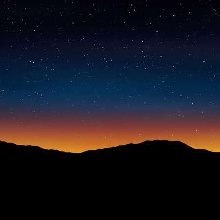sunset background Stock Photo - 22256982