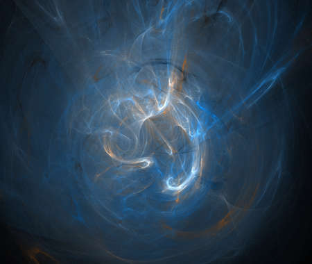 blue fractal Stock Photo - 22981370