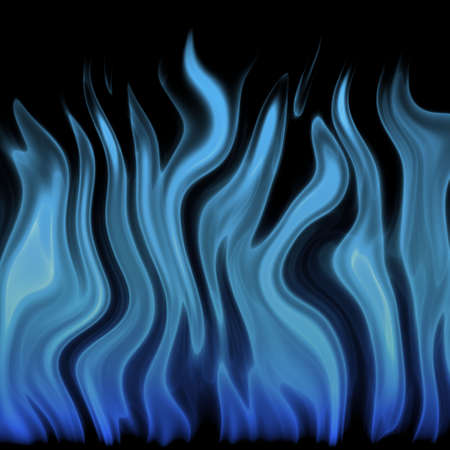 blue flame Stock Photo - 22981434