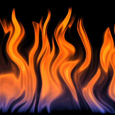 red flame Stock Photo - 22981437