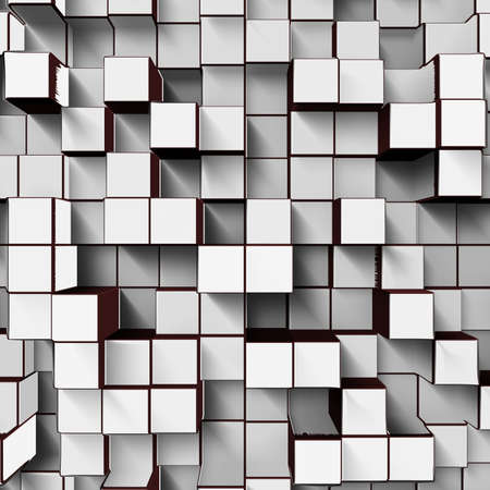 white cubes Stock Photo - 24323005