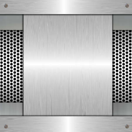 metal plate Stock Photo - 25674311