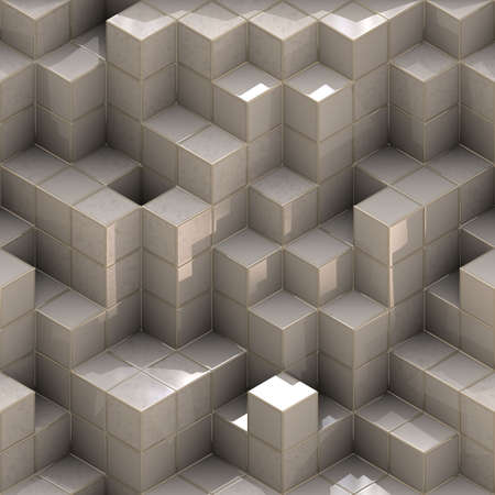 cubes background Stock Photo