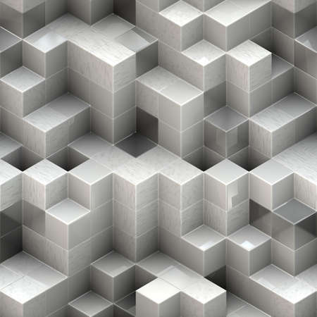 white cubes photo