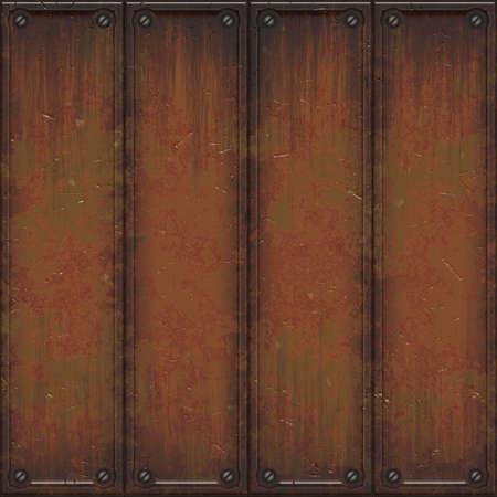 rust wall Stock Photo