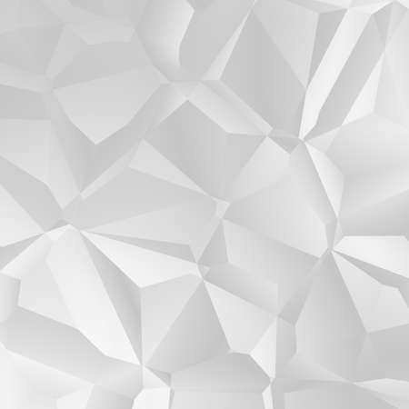 white polygon Stock Photo