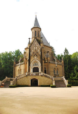 czech culture: The view of Schwarzenbergs tomb in Trebon