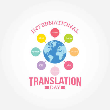 International Translation Day Vector Illustration. Suitable for greeting card, poster and banner. Illustration