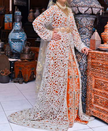 The Moroccan caftan is a Moroccan women's traditional costume. It is considered one of the oldest traditional clothes in the world.