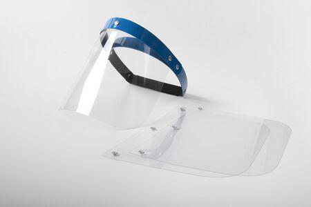 coronavirus face protection visor Reklamní fotografie