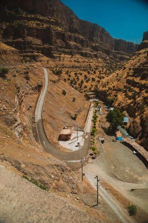 dangerous road: Dangerous road in Iraqi Kurdistan region