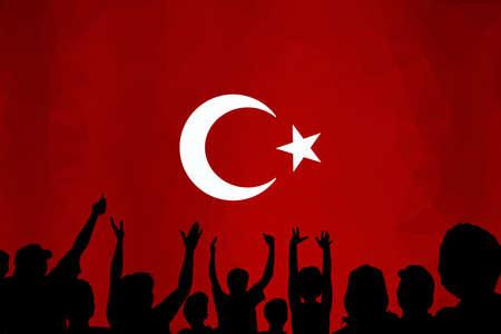 Turkish Flag, Flag, Turkey