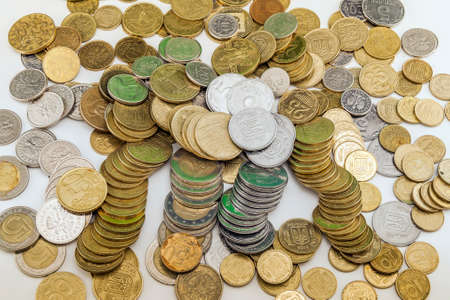 different countries: Different countries coins background
