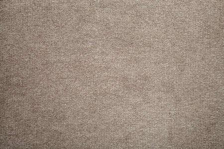 Gray beige linen canvas surface background. Sackcloth design, ecological cotton textile, fashionable woven flex burlap. Foto de archivo - 124554833
