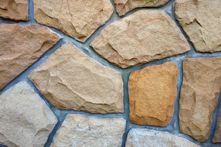 Sand stone wall for usage as background.