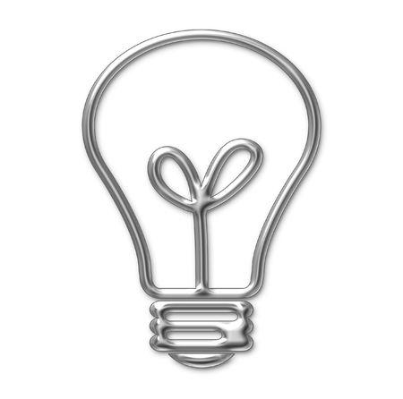 lampe: Leuchtmittel Stock Photo