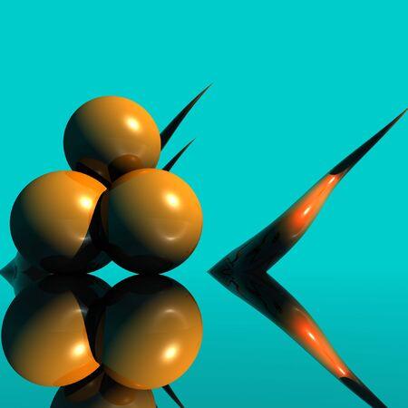 3d: 3D Form Stock Photo
