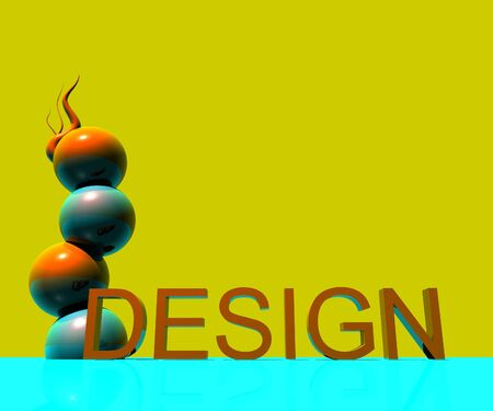 3d: 3D Design Stock Photo
