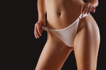 thong bikini: panties