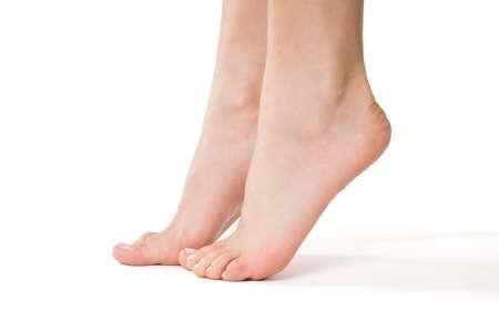 feet naked: Feet of a woman