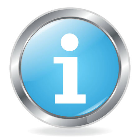 Information Button Vector