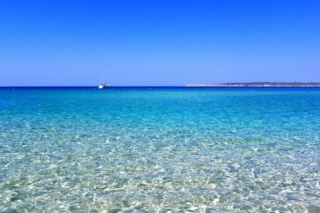Holiday summer in Baleares beaches, Spain  photo