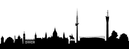 provincial: Hanover Silhouette abstract
