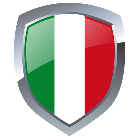 Italy Emblem Vector