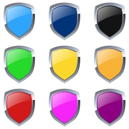 Various Emblem Ilustração