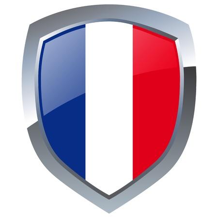 France Emblem Vector